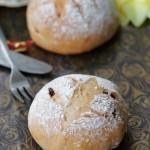 普通面粉做面包——欧式红酒葡萄干面包