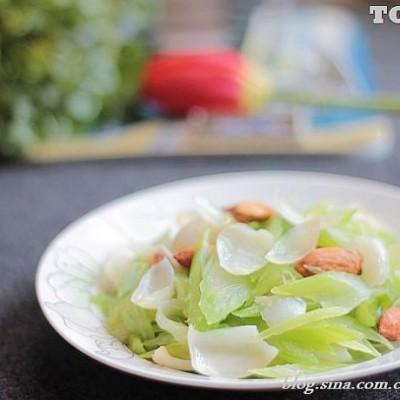 春天就要吃最嫩最水灵最清爽的养生菜---做美味百合西芹菜的诀窍