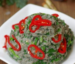 【豆渣的七十二变】充分利用豆浆的副产品——风味十足的春韭小豆腐
