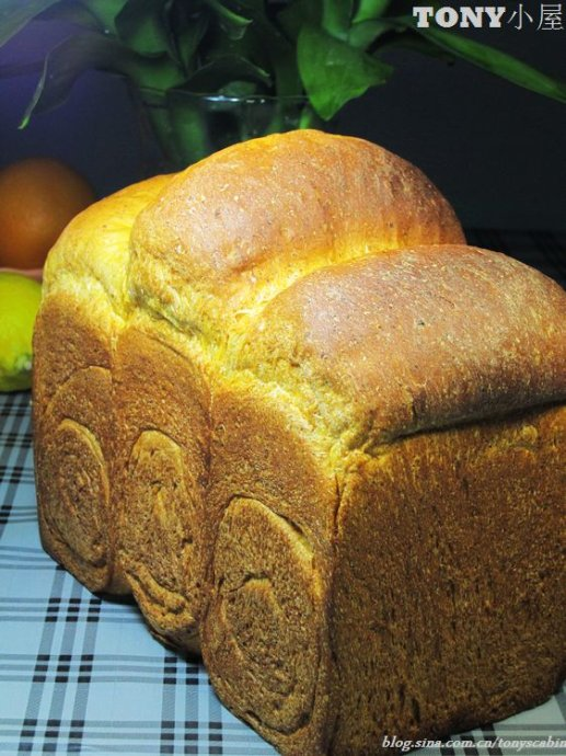 不用面包机不用揉面也可以吃到正宗的土司