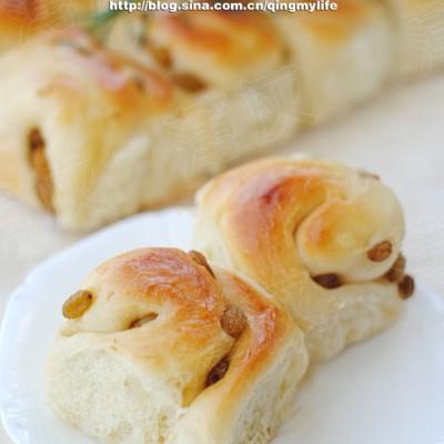 【葡萄卷面包】绵软香甜有窍门——老面法