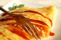 完整营养,完美状态--金黄香嫩的【茄汁蛋包饭】
