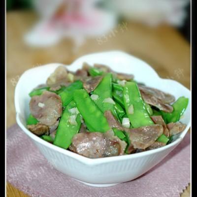 【腊肠炒荷兰豆】(附25道家常快手菜)