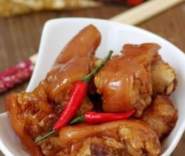 美容养颜的传统大菜——私房软糯红烧猪手