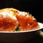 吃蟹需要新鲜的才是硬道理-----姜葱花蟹