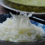 揭开鱼翅瓜的面纱---鱼翅瓜脆拌鲮鱼皮
