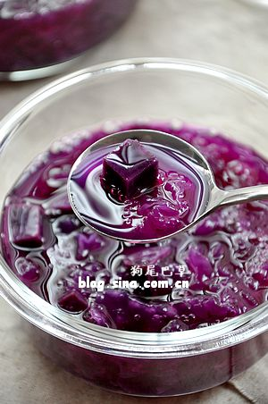 【紫薯戚风】只为那一抹紫~