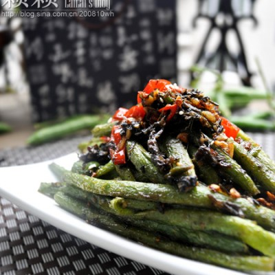 """【橄菜煸豆角】被川菜厨师称为""""火中取宝""""的干煸菜!"""