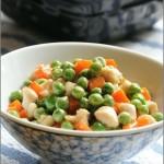 春日小炒----豌豆三色鸡丁(豌豆?甜豆?荷兰豆?)