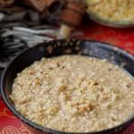 简易版传统牧民早餐——醇香奶茶蒙古米