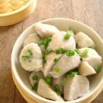 献给父母的养生家常菜---葱香芋艿