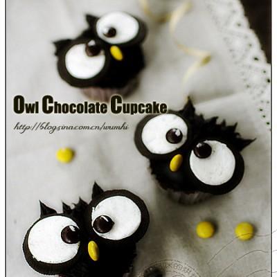 创意无极限--猫头鹰巧克力蛋糕