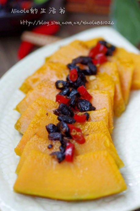 节后清肠首选菜——低碳豆豉蒸南瓜