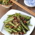 【橄榄菜煸四季豆】——很惹味的抢手下饭菜