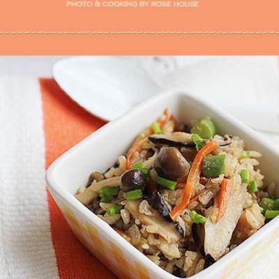 和日本主妇学做蘑菇焖饭(附12款日式家庭料理)