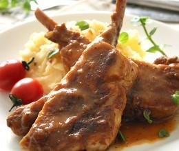 普罗旺斯风情--香煎法式小羊排配土豆泥(懒人版)