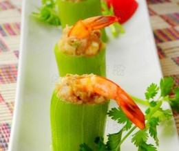 """""""蒸""""是夏季最好的烹饪方式——【虾仁肉末丝瓜盅】"""
