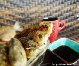 一种食材只需一种调味方式足矣-----干煎小鲫鱼