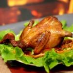 烤乳鸽的家常简化法—【清香烤乳鸽】16道给力大菜