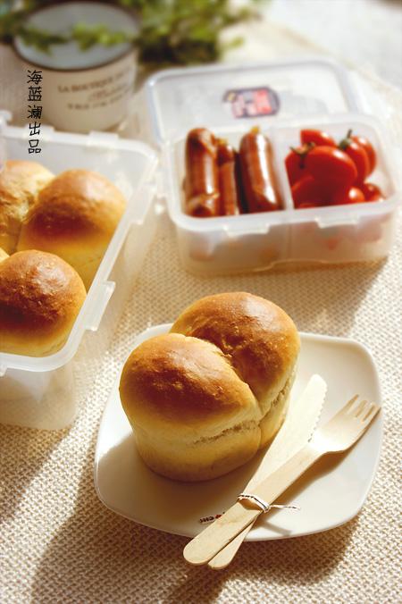 给不爱吃姜的老公做【英国生姜面包】:抓住春天的尾巴便当篇