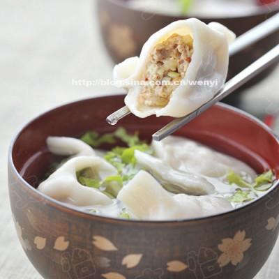 推荐一种你或许没吃过的饺子-----好吃的泡菜饺子(不油腻的馅料)