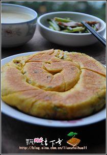 比花卷更香的黄金大饼----南瓜发面葱油饼
