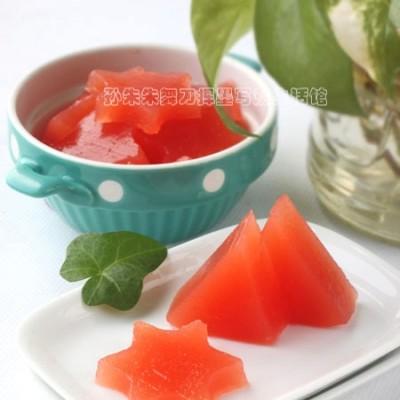 自制夏季清凉小零食西瓜冻--童年随想(二)
