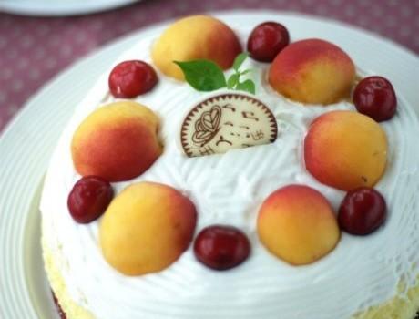 炎炎夏日外送蛋糕的保温秘籍-----不用裱花工具的鲜果芝士蛋糕
