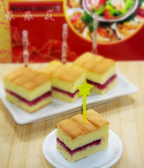 烫面的戚风更松软---杨梅果酱夹心蛋糕的做法