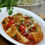 【番茄肉末燒豆腐】上桌率賊高的一道家常豆腐菜!