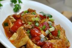 【番茄肉末烧豆腐】上桌率贼高的一道家常豆腐菜!