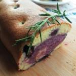 蓝莓紫薯蛋糕卷(热卷蛋糕)