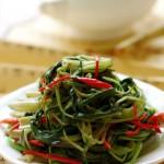 最适合夏天吃的经典粤式小炒——清鲜椒丝腐乳空心菜