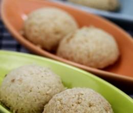 72变的小西点--椰香小西饼和红茶杏仁小西饼(橄榄油版)