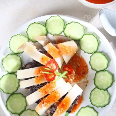 紫米饭的海味新装——透抽紫米饭(附酸辣沾酱~)