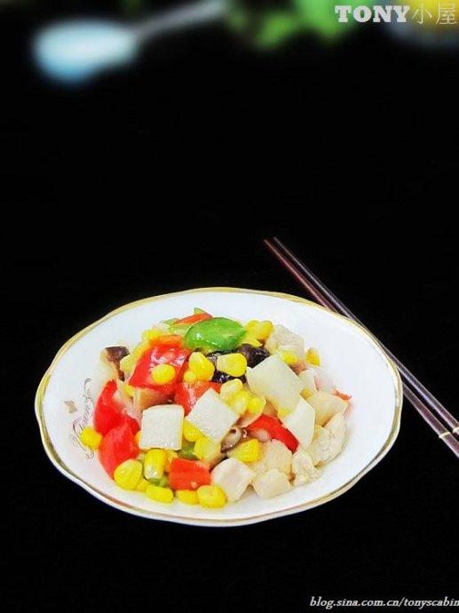 疯狂的辣椒让这盘美容减肥肉活力四溅