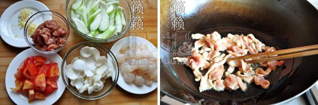 【百合肉片炒荔枝】荔枝红时,别错过风情万种的荔枝菜!