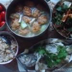 71份微博晚餐记录