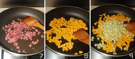 双瓜牛肉炒饭