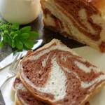 专为巧克力控定制的超香大面包——双料巧克力扭纹大吐司