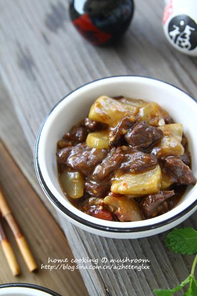唤醒夏季沉睡味觉的开胃下饭菜,丁丁葫芦瓜酸辣炒牛肉
