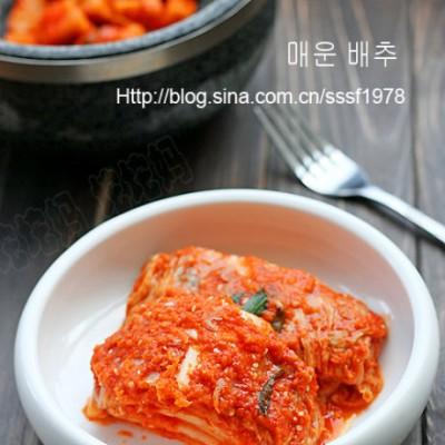 韩国美食中最受中国人喜爱的一味韩式辣白菜