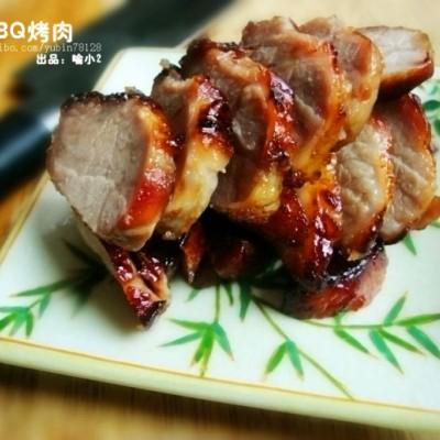不用叉烧酱做的叉烧肉----BBQ烤肉