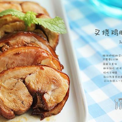 6分钟微波炉版超香叉烧肉-最适合夏天的日式叉烧鸡腿肉