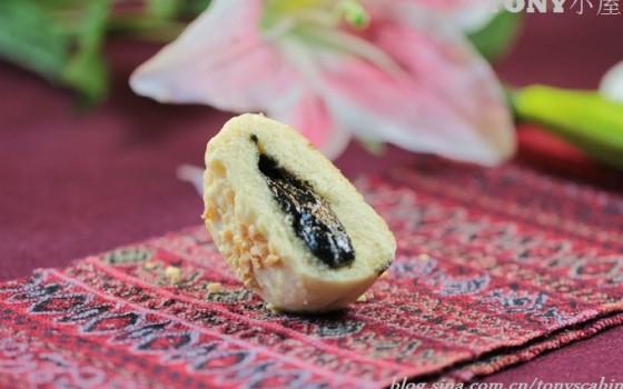 如何做出流沙芝麻馅的平底锅坚果面饼----10分钟打造出一款营养早餐面饼