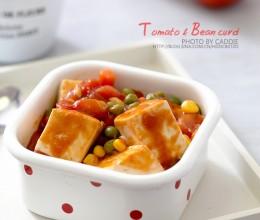夏天最开胃的豆腐吃法———茄汁豆腐