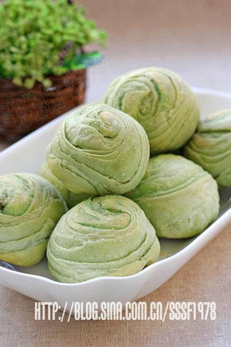 夏日里的一缕清新抹茶绿豆酥