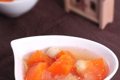 水果之王木瓜的两种甜蜜吃法----木瓜银耳莲子羹&木瓜果酱
