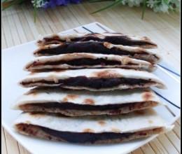 10分钟让剩面团变成营养丰富的早餐饼——红豆沙饼