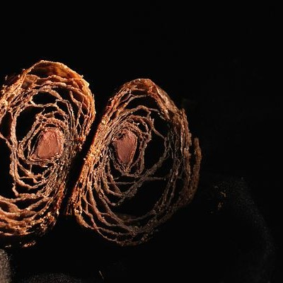 天然酵种巧克力可颂-原来练的是双人杂技